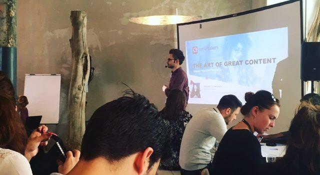 Engage Prague 2017: A arte de um conteúdo de sucesso